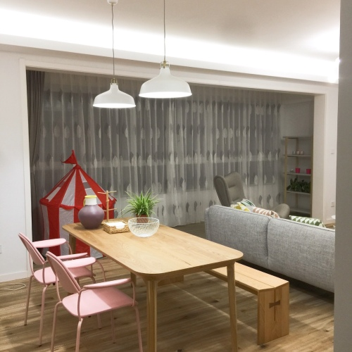鲁西西_瓦檐餐桌1.8米长餐桌怎么样_1
