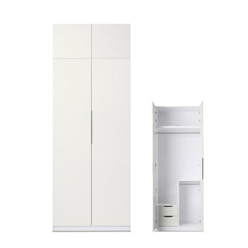 贡多拉两门衣柜-顶柜B款