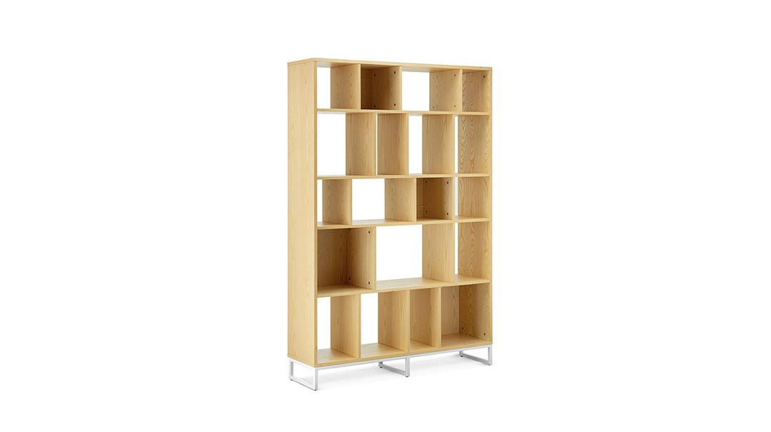 画板书架0.8米宽书架(不含储物盒)柜架