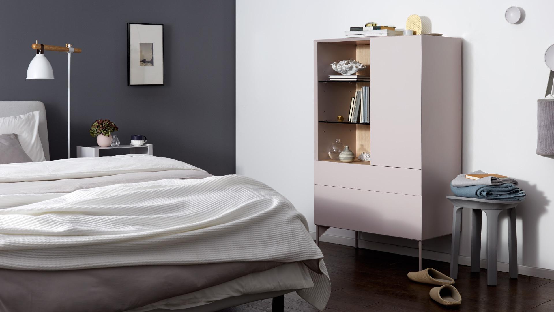 卧室收纳柜,比普通斗柜更灵动有型