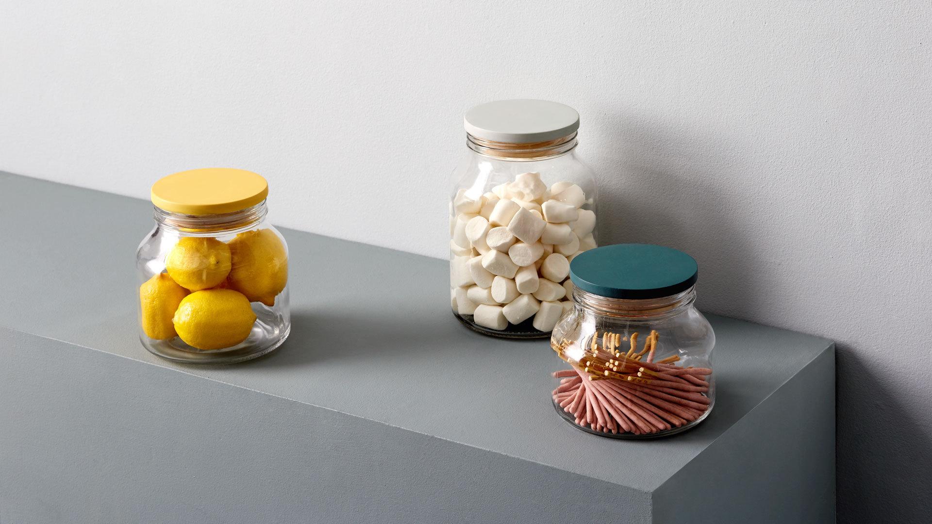 置于厨房、客厅,更别致的食物收纳罐