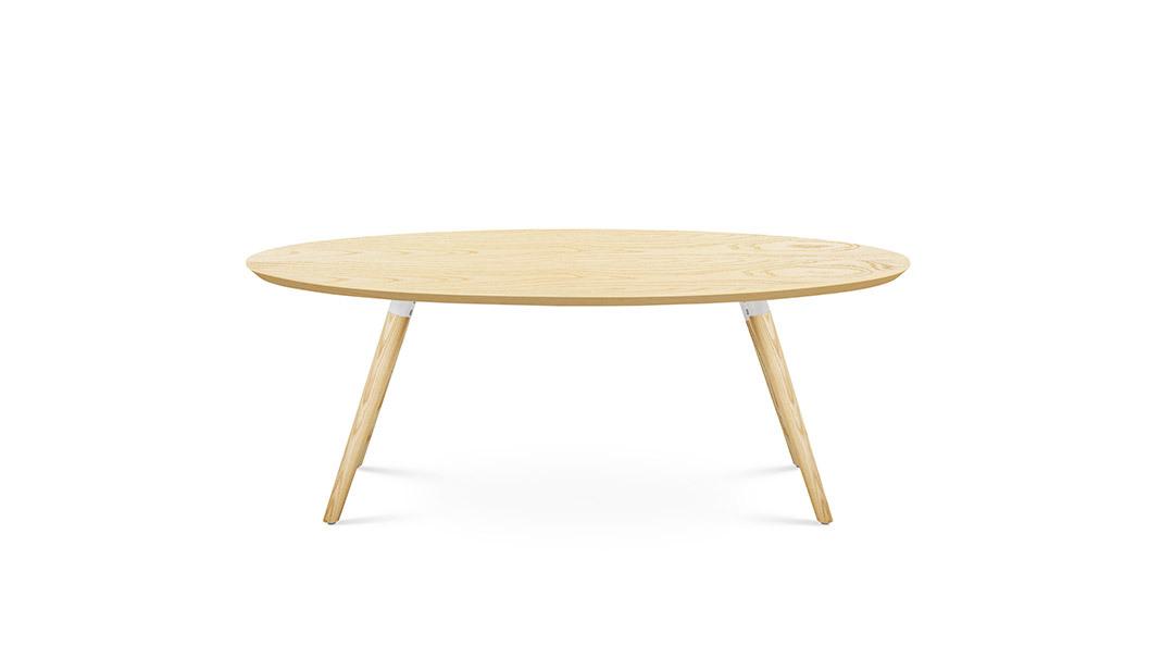 画板咖啡几-椭圆形桌几