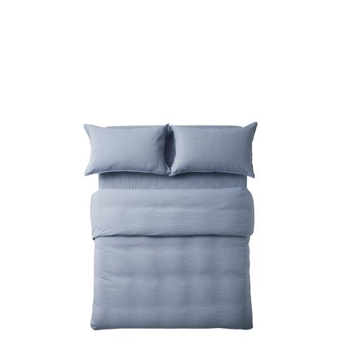 香草棉麻色织4件套床品-1.8米