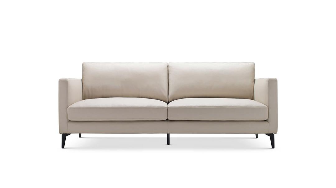 造作星期天沙发超韧人工皮版™双人座沙发