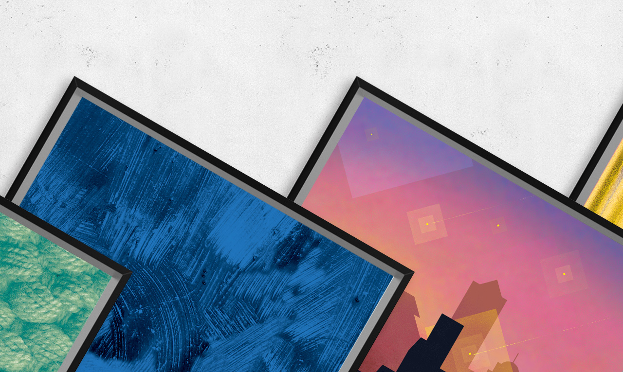 造作装饰画 | 给墙壁的基础色块