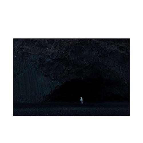旅行家限量画芯 | Øystein Sture Aspelund作品3号-冬眠26(装裱后)装饰效果图