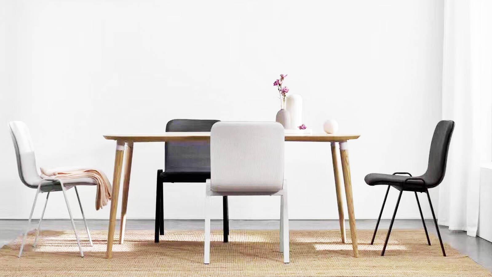 畫板餐桌-長桌 | Z-background Dining Table