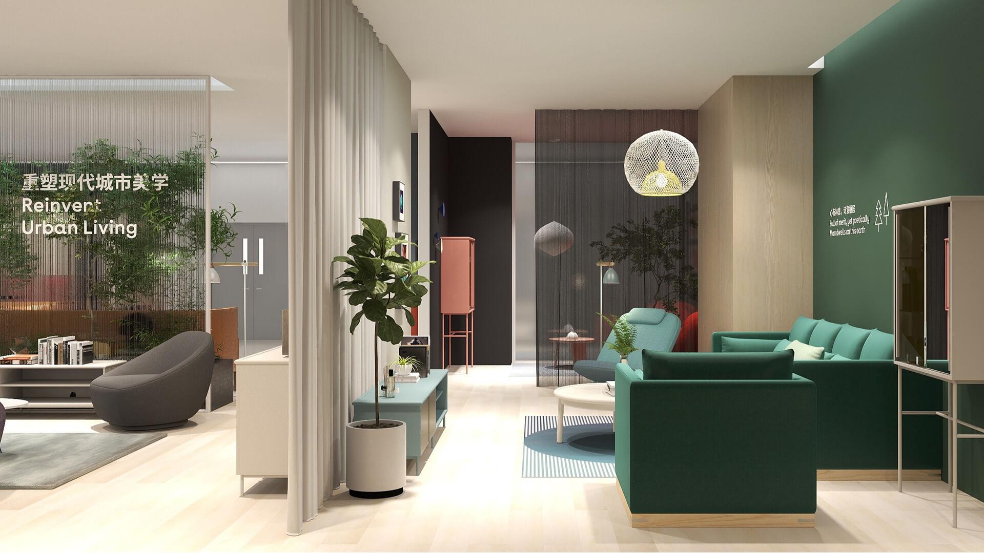 造作新家青岛首店 | 富尔玛国际家居博览中心 F3-806