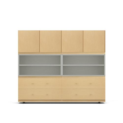 COSMO星格?書柜1.6米寬書柜/餐邊柜A款柜架效果圖
