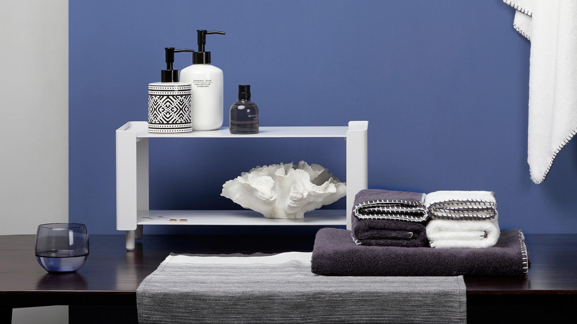 浴室台面架,洗浴时刻的优美形式