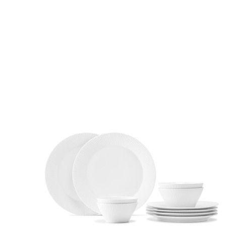 莹贝法国瓷土10件套餐具组