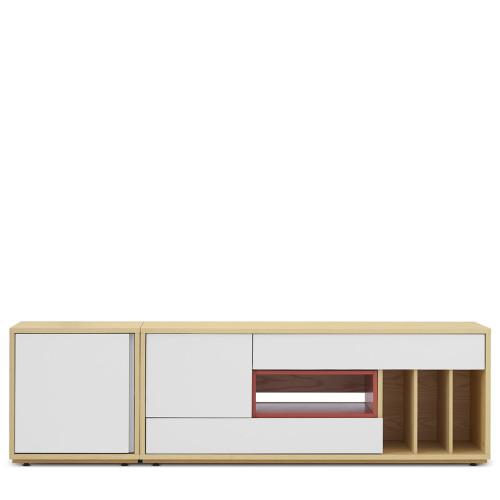 青山电视柜-整柜体+小空盒