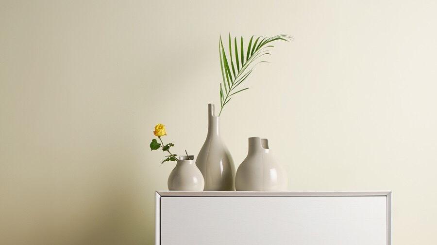 双生陶瓷花瓶 | Contrast Vase