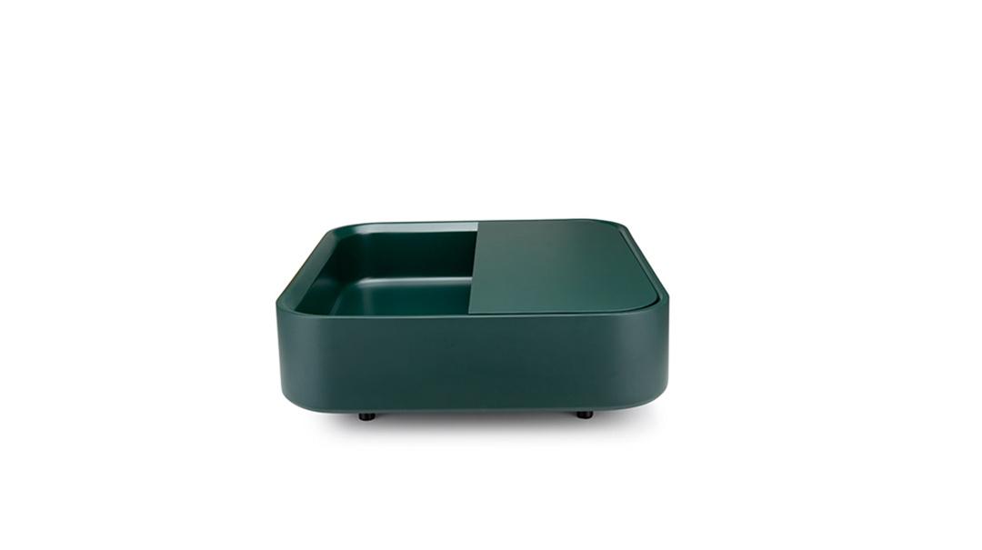 谜盒升级版脂灰大竖盒桌几