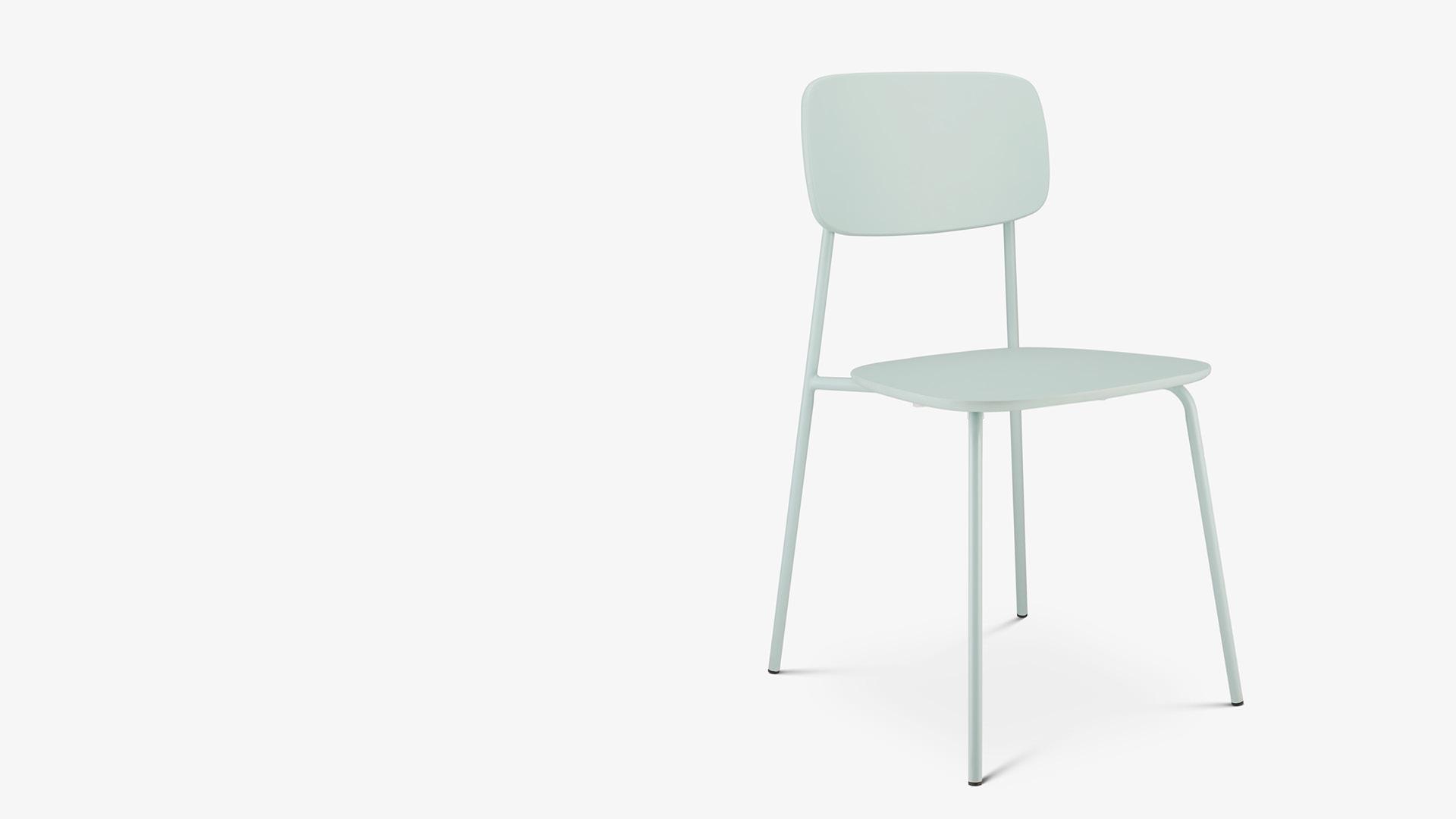 用纤细蜻蜓,勾画一把轻灵小椅<br/>为精巧户型释放空间