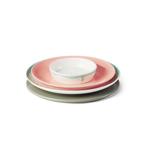 湖海餐具组餐盘套装餐具效果图