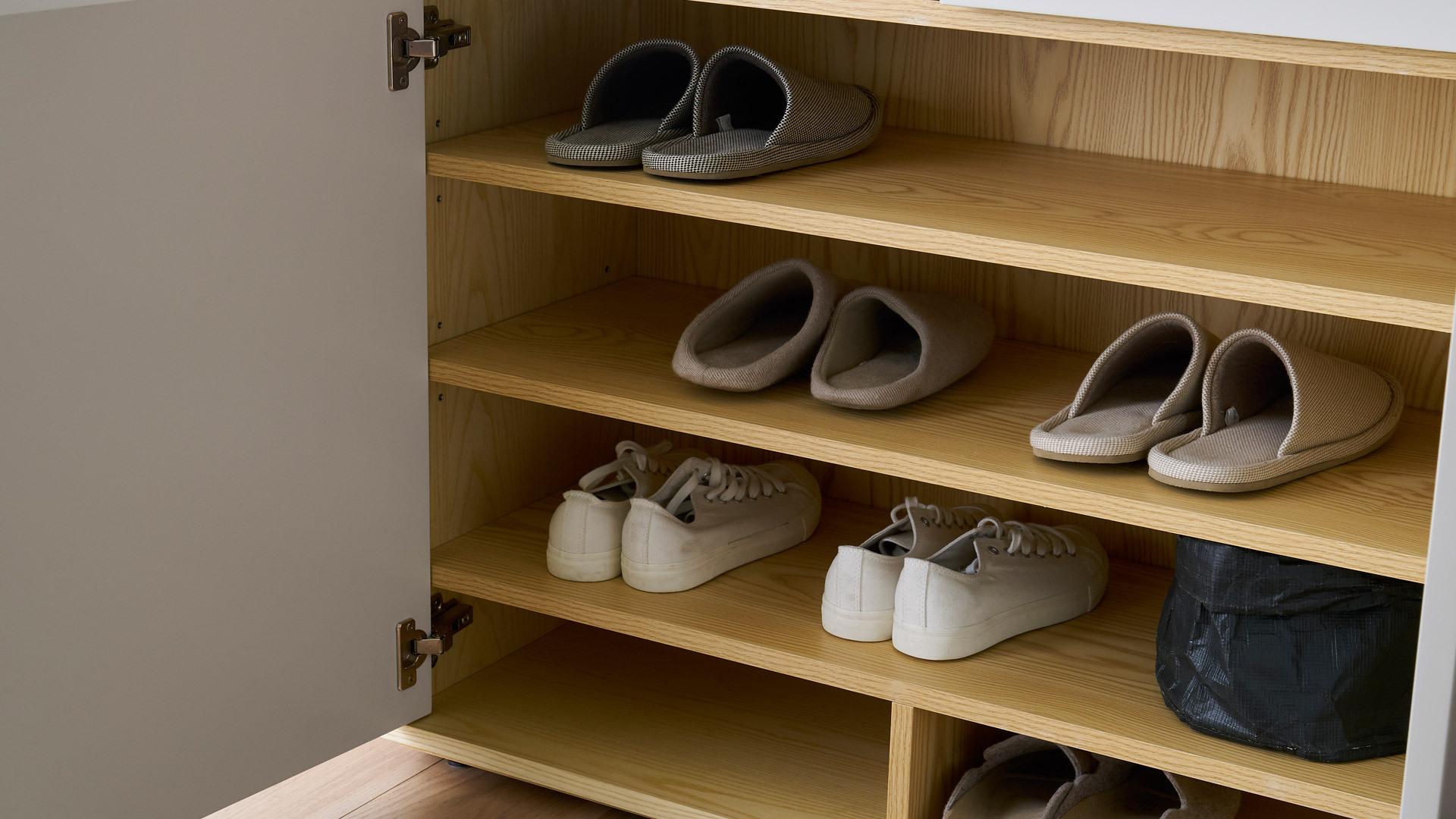 一开一合,鞋履随手可得