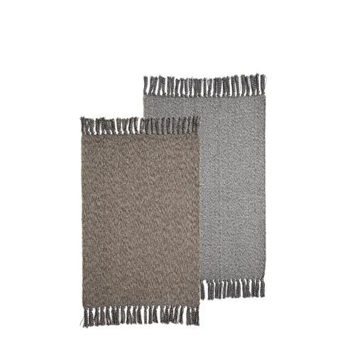 花岩纯棉手织地垫