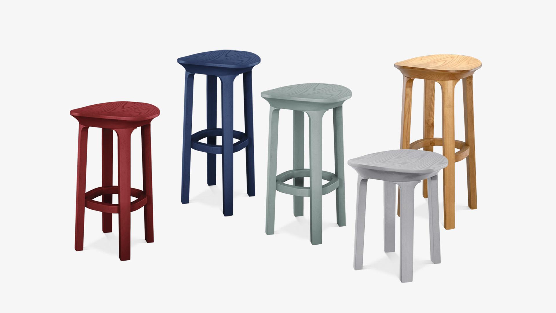 瓦檐小凳 | Tab Series
