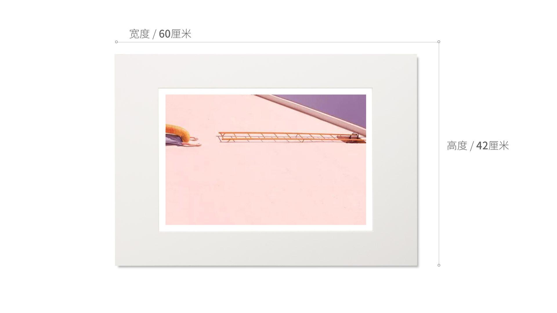 旅行家限量画芯 | Karen Khachaturov作品3号-撞车篇(装裱后)装饰效果图