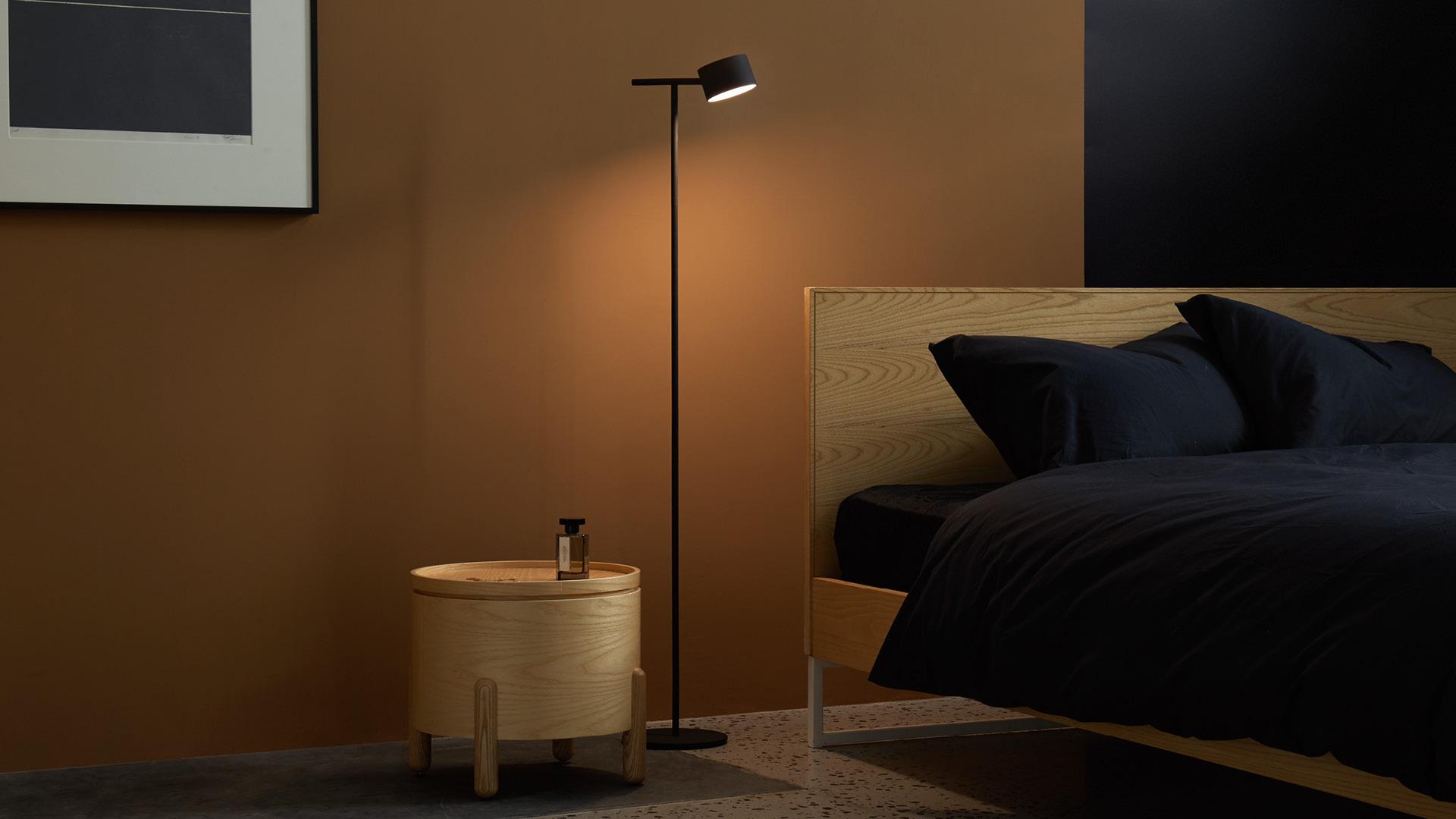 床头阅读灯,陪伴静谧之夜