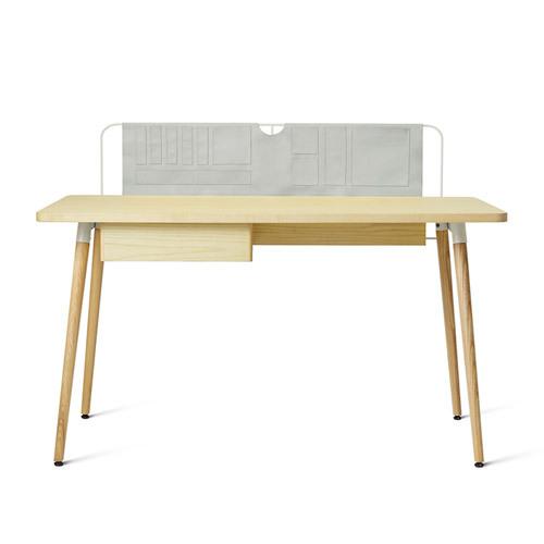 造作井然工作桌?短桌(無書箱)桌幾效果圖