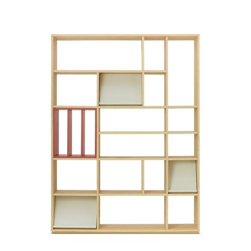 青山书架-大书架+层板盒