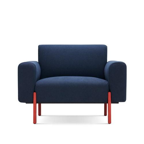 飞鸟沙发单人座沙发效果图
