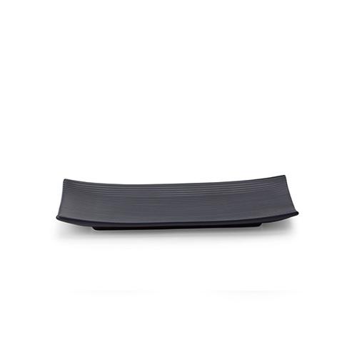折简浸釉餐具组®-盘碗小长方平盘餐具效果图