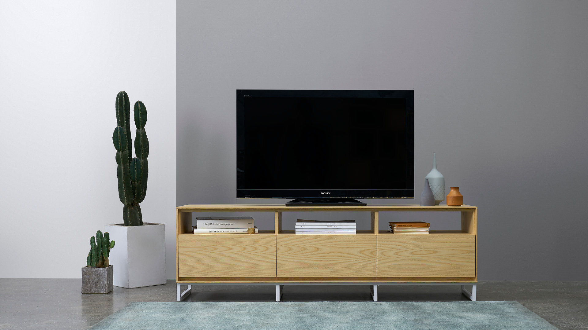 画板电视柜 | Z-background TV Cabinet