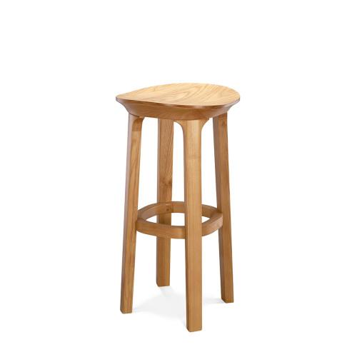 瓦檐实木小凳®-高凳