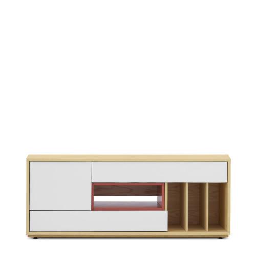 青山电视柜-大柜体+小空盒