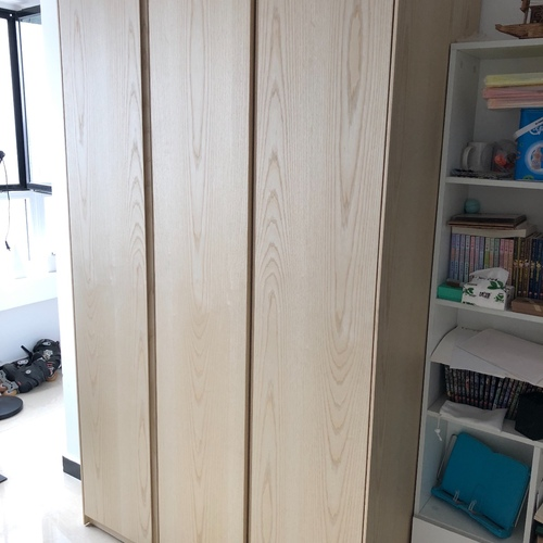 Steve_E_画板三门衣柜有顶柜怎么样_2