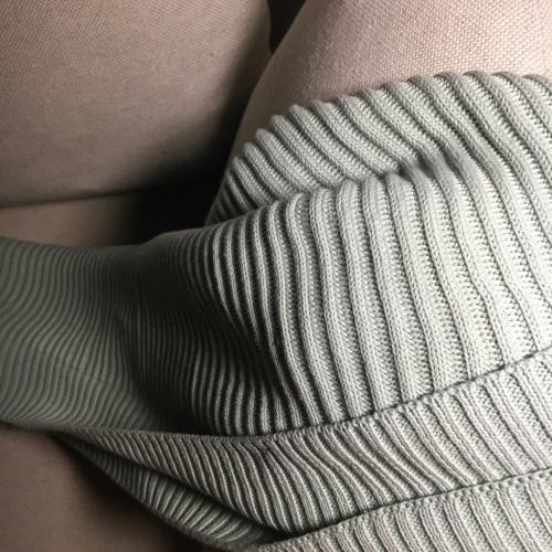 造作蛋卷精梳棉针织毯精选评价_Sofia Lee