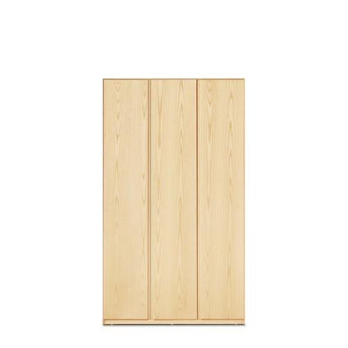 画板三门衣柜®-无顶柜