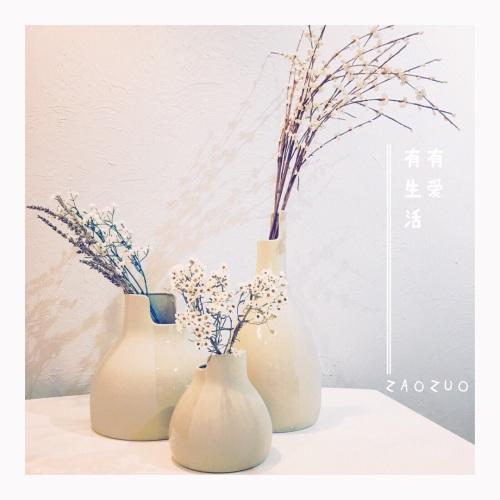 造作双生陶瓷花瓶精选评价_tong