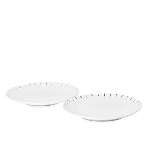 镜线西班牙瓷土餐具组 | 大盘套装
