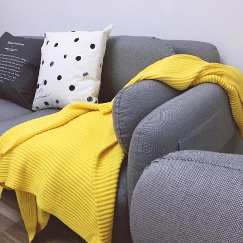 造作蛋卷精梳棉针织毯精选评价_Mikko