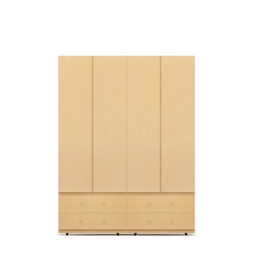 COSMO 4门衣柜E-2.1米高