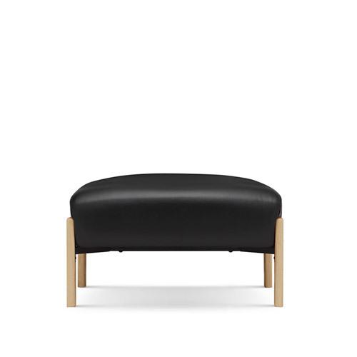 飞鸟沙发真皮版脚墩沙发效果图