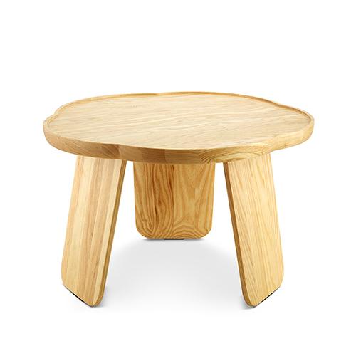 造作花间实木小桌®柜架