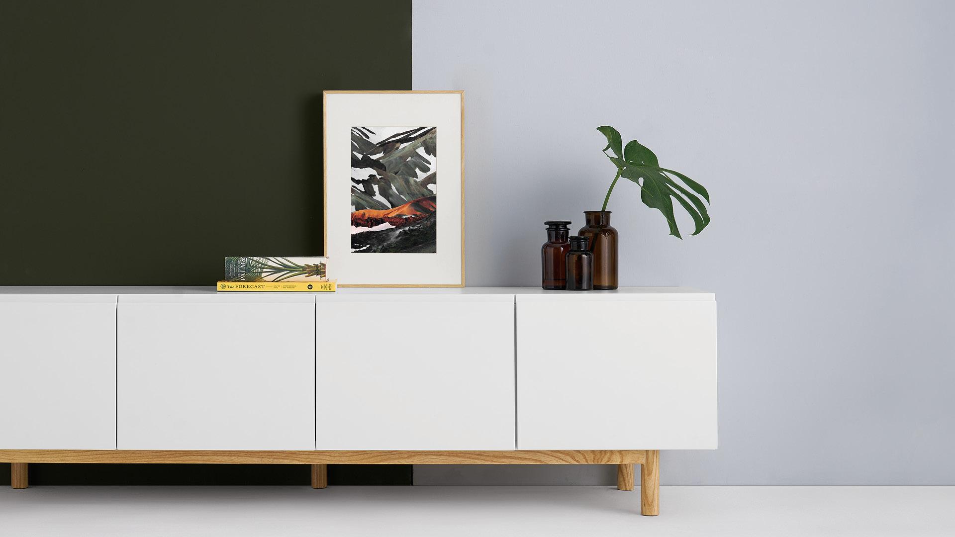 木本色画框,大自然的配色方案