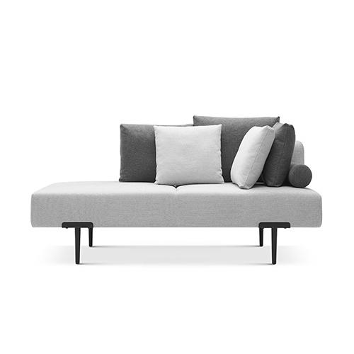 Sofa T双人座右靠背沙发效果图