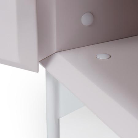 柜内同色系隐形卡扣将螺丝隐形,再微小的细节都追求极致之美