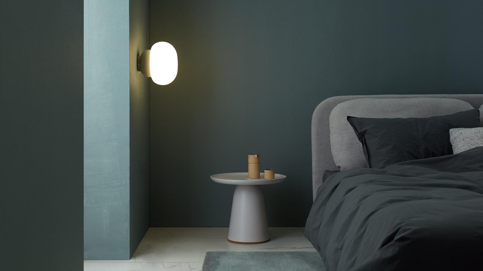 墙面壁灯,柔和睡眠空间