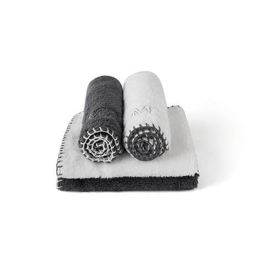 Couple埃及长绒棉毛巾组方巾家纺效果图