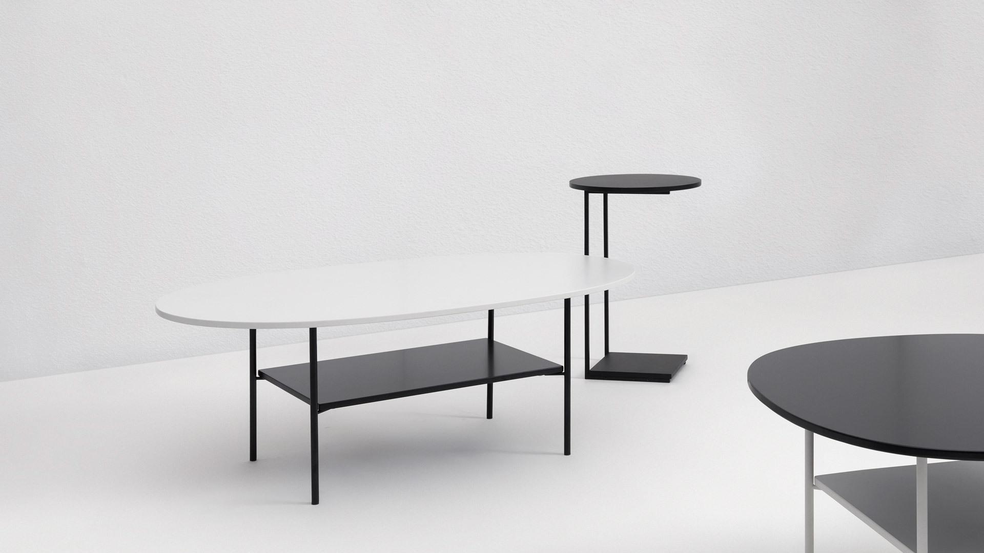熊猫茶几+边桌,一次线与面的美学实践