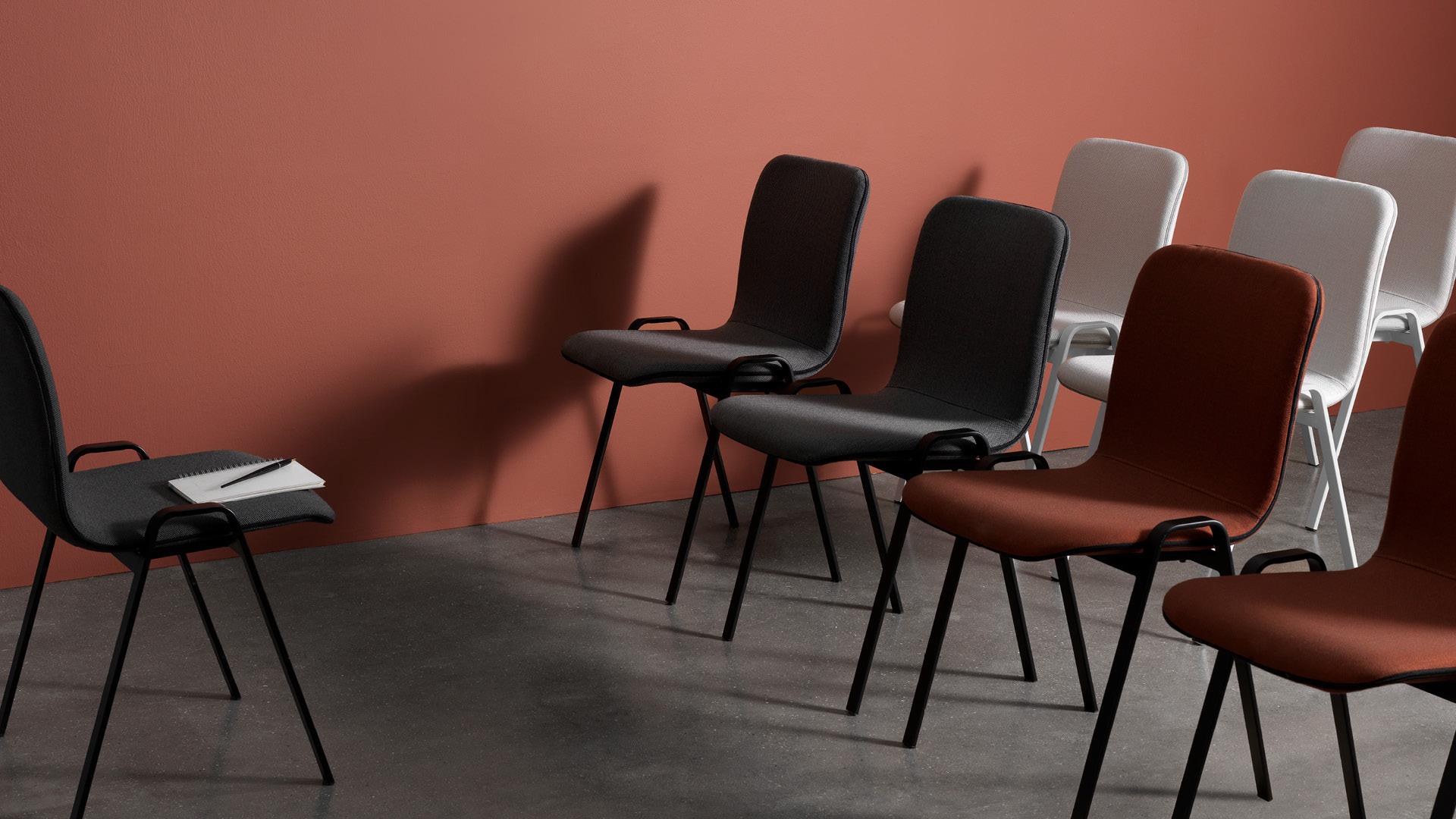 公共空间用椅,大方有型的舒适承托