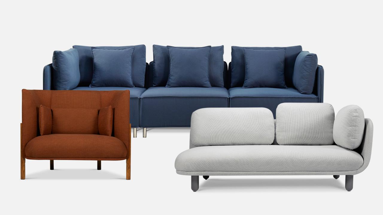 造作沙发 | 圆润设计中映带的舒适坐感