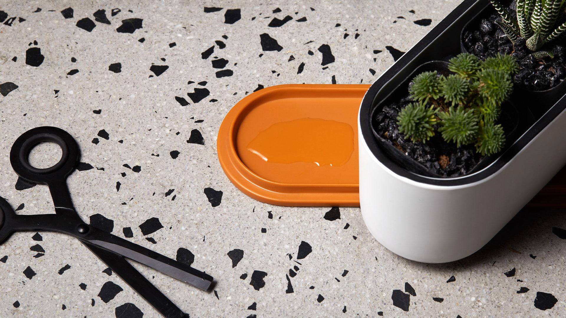 盒盖承托,不再担心桌面污染
